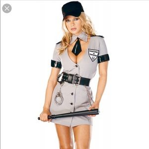 Dreamgirl Corrections Officer Halloween Costume S